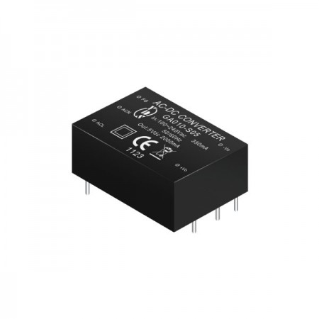 10W 3KVac 절연 레귤 레이트 된 출력 AC-DC 컨버터 (모듈) - 10W 3KVac 절연 AC-DC 컨버터 (모듈) (GA010 시리즈)