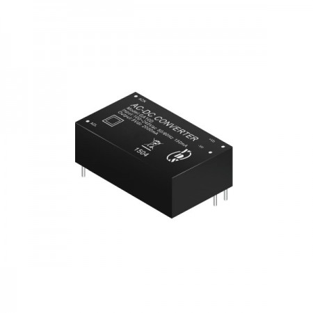 10 ~ 12W 4KVac Isolation Regulated Output AC-DC Converters (Module) - 10 ~ 12W 4KVac Isolation AC-DC Converters (Module)(GA10D Series)