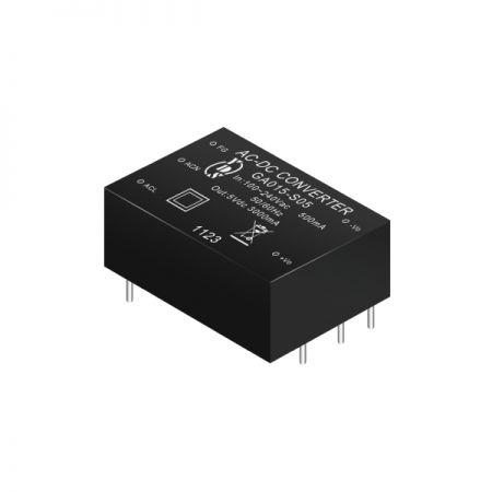 13 ~ 19W 3KVac Isolation Regulated Output AC-DC Converters (Module) - 13 ~ 19W 3KVac Isolation AC-DC Converters (Module)(GA015 Series)