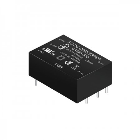 14 ~ 25W 3KVac Isolation Regulated Output AC-DC Converters (Module) - 14 ~ 25W 3KVac Isolation AC-DC Converters (Module)(GA025-SXX Series)