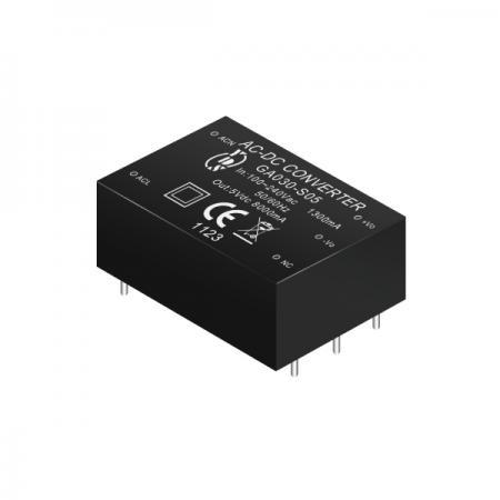 26 ~ 48W 3KVac Isolation Regulated Output AC-DC Converter (Module)