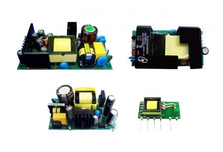 Преобразователи переменного тока в постоянный (открытая рама) - Источники питания переменного и постоянного тока с открытой рамой Юань Дина