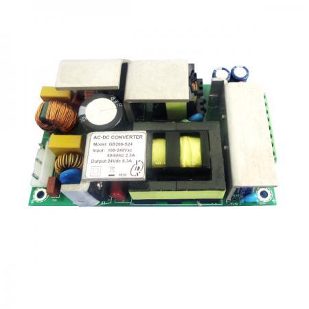 200W 3KVac İzolasyonlu Tek Çıkışlı AC-DC Dönüştürücüler (Açık Çerçeve) - 200W 3KVac İzolasyonlu AC-DC Dönüştürücüler (Açık Çerçeve) (GB200 Serisi)