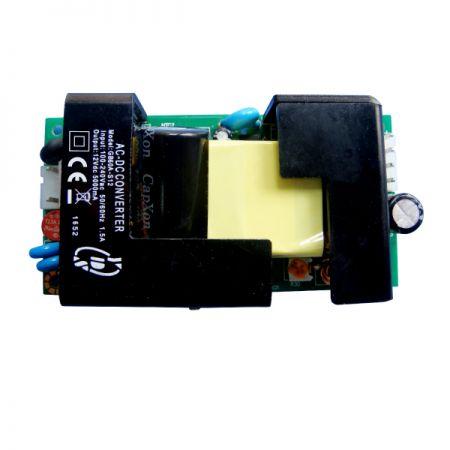 60W 3KVac 절연 단일 출력 AC-DC 컨버터(오픈 프레임)