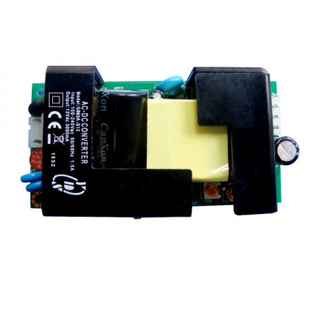 60W 3KVac Isolation Single Output AC-DC Converters (Open Frame)