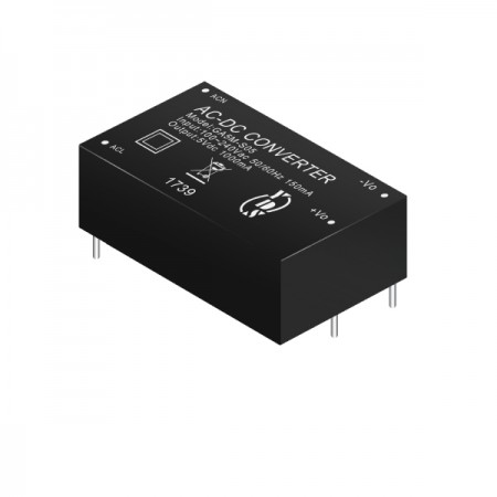 5W 4KVac Isolation Regulated Output AC-DC Converter (For Medical) - 5W 4KVac Isolation Regulated Output AC-DC Converter(GA5M Series)