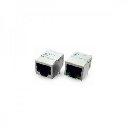 Single Port 10 Base-T RJ45 Jack with Magnetics - Single Port 10 Base-T RJ45 Jack With Magnetics(12F/14F-1X Series)