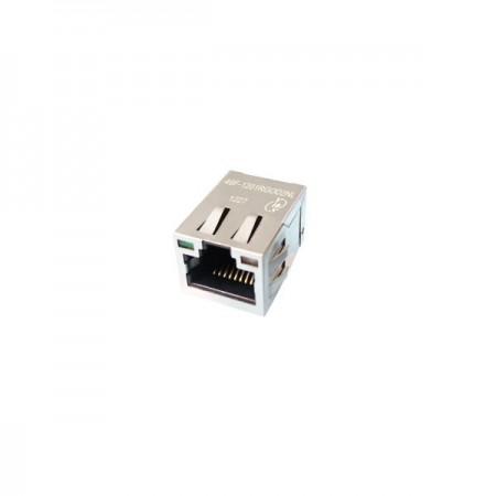 Single Port 10/100/1000 Base-T RJ45 Jack with Magnetics(46F) - Single Port 10/100/1000 Base-T RJ45 Jack with Magnetics(46F Series)