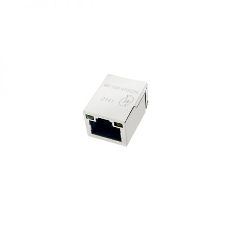 Single Port 10/100 Base-T SMD RJ45 Jack with Magnetics(49F)