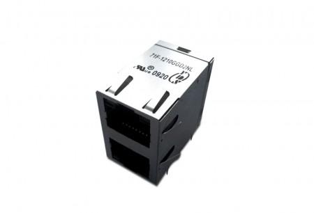 2 एक्स एन एकीकृत आरजे 45 जैक - 2 एक्स एन पोर्ट आरजे 45 कनेक्टर
