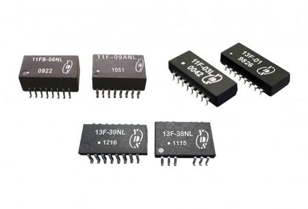 10/100 Base-Tx-LAN-Filter - 10/100 Base-Tx-LAN-Transformatoren