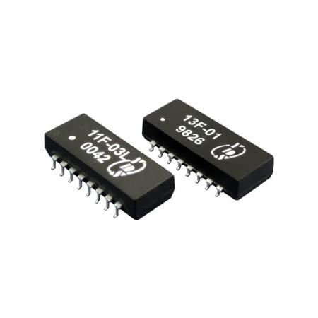 10/100 Base-T 단일 포트 SMD LAN 필터