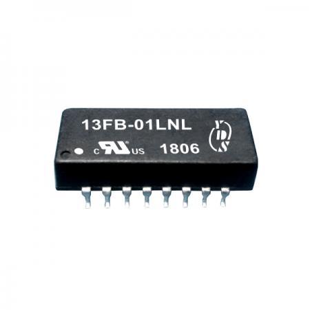 10/100 Base-T 단일 포트 16PIN SMD LAN 필터