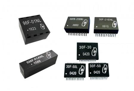 1-Gigabit-Ethernet-LAN-Filter - 1-Gigabit-Ethernet-LAN-Transformatoren
