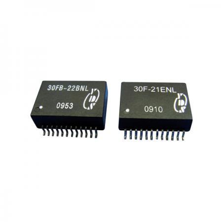 10/100/1000 Base-T 24PIN SOIC LAN 필터 - 10/100/1000 Base-T 24PIN SOIC LAN 필터(30FB-2X 시리즈)