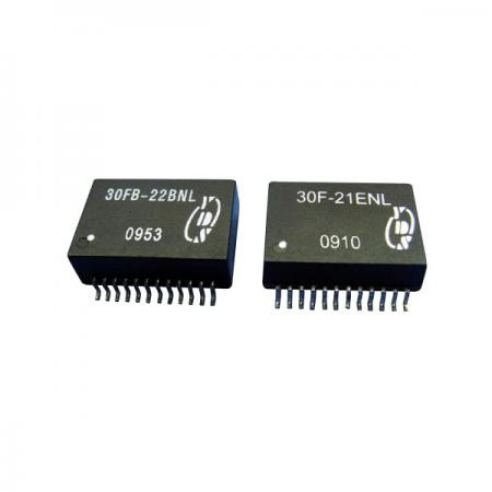 10/100/1000 Base-T 24PIN SOIC LAN Filters - 10/100/1000 Base-T 24PIN SOIC LAN Filters(30FB-2X Series)
