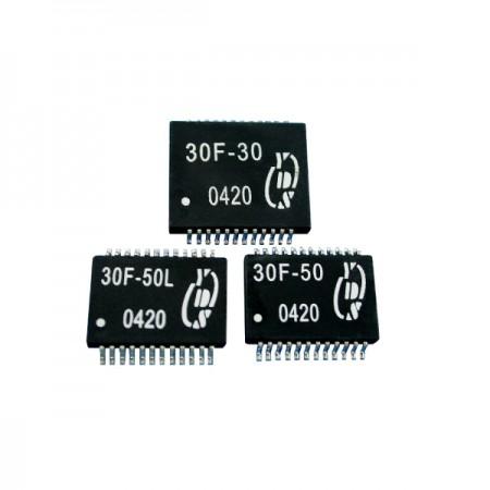 10/100/1000 Base-T PC 카드 LAN 필터 - 10/100/1000 Base-T PC 카드 LAN 필터(30F-3X/5X 시리즈)