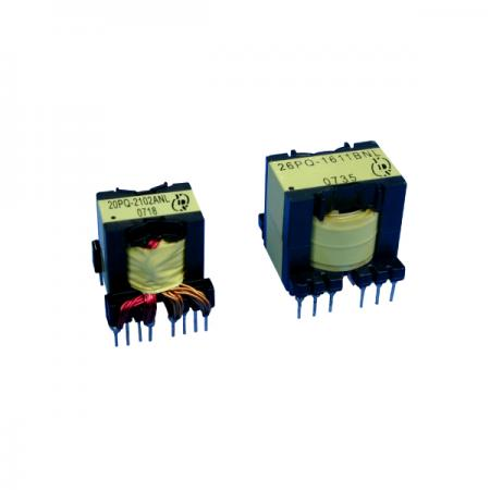 High Frequency Power Transformer with PQ Core