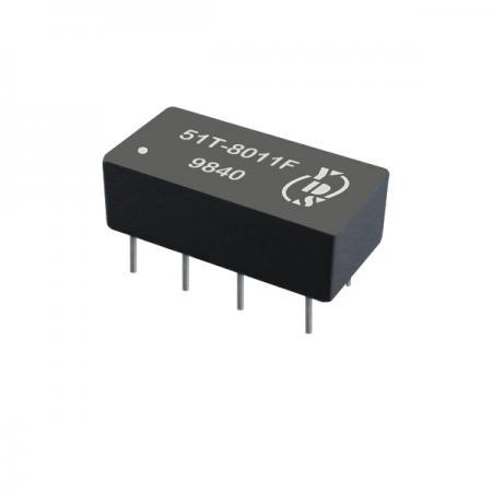 อินเทอร์เฟซ T1 / CEPT / ISDN-PRI 1.5KVrms การแยกหม้อแปลงคู่ผ่านรู (51T) - T1/CEPT/ISDN-PRI อินเทอร์เฟซ 1.5KVrms Isolation Transformer (51T Series)