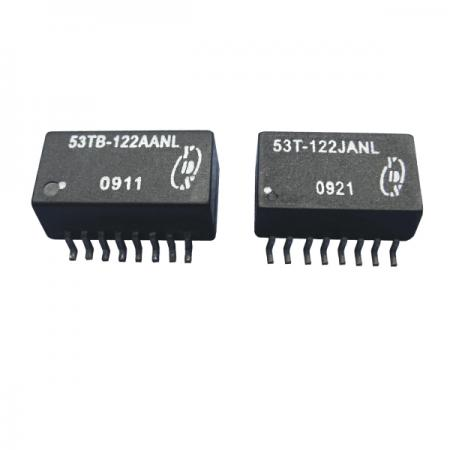 T1/CEPT/ISDN-PRI 인터페이스 1.5KVrms 절연 변압기(53T/53TB) - T1/CEPT/ISDN-PRI 인터페이스 1.5KVrms 절연 변압기(53T/53TB 시리즈)