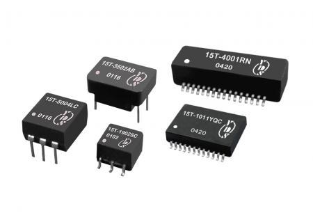 T3/DS3/E3/STS-1 인터페이스 변압기 - 통신 애플리케이션용 T3/DS3/E3/STS-1 인터페이스 변압기