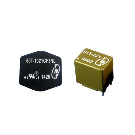 स्टैंडर्ड लो पावर जनरल पर्पस इंडक्टर्स - सामान्य प्रयोजन के लिए स्टैंडर्ड लो पावर इंडक्टर्स (80T / 81T Series)