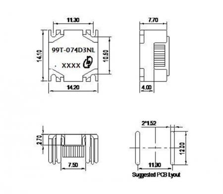 99T Series Mechanicals and Dimensions