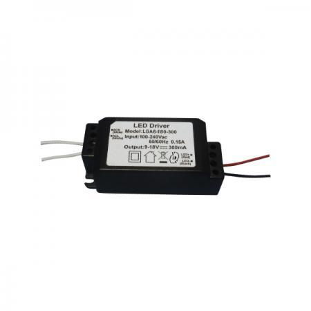 3~6W PFC 3KVac 절연 AC-DC LED 드라이버 없음 - 3~6W PFC 없음 3KVac 절연 AC-DC LED 드라이버(LGA6 시리즈)