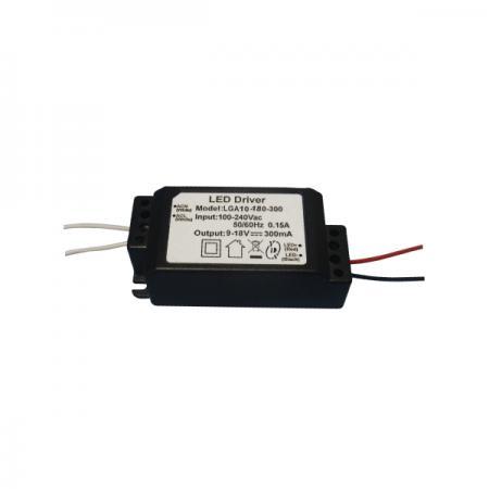 3 ~ 10W 3KVac การแยก PFC AC-DC LED Driver - 3~10W 3KVac Isolation PFC AC-DC LED Driver(LGA10 Series)