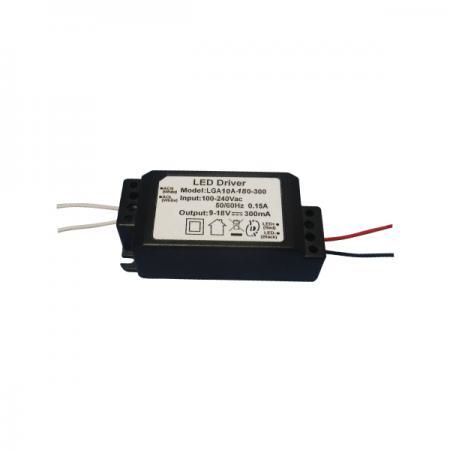 3~10W 3KVac 절연 IP67 정격 PFC AC-DC LED 드라이버 - 3~10W 3KVac 절연 IP67 정격 PFC AC-DC LED 드라이버(LGA10A 시리즈)