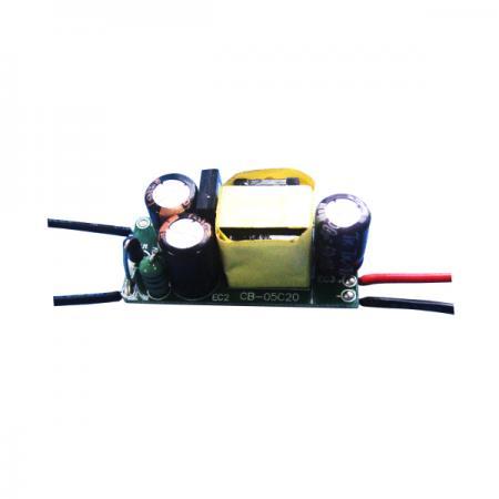 ไดรเวอร์หลอดไฟ LED แบบแยก 3~6W 3KVac - 3~6W 3KVac Isolation No PFC LED Bulbs Drivers(LB6 Series)