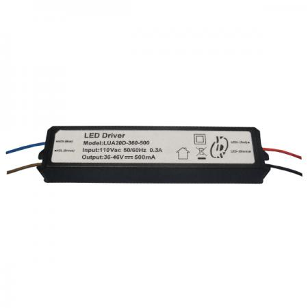 10 ~ 20W 3KVac Isolation Dimmable PFC LED Drivers - 10~20W 3KVac Isolation Dimmable PFC LED Drivers (LU(E)A20D Series)