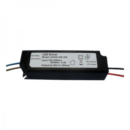 10~25W 3KVac Isolation PFC LED Drivers-LGA20(A) - 10~25W 3KVac Isolaion Non-Dimmable PFC LED Drivers(LGA20(A) Series)