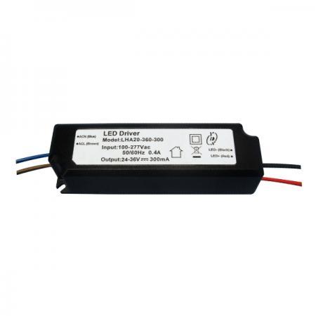 10~25W 3KVac การแยก PFC LED Drivers-LHA20(A) - 10~25W 3KVac Isolaion ไดร์เวอร์ LED PFC แบบหรี่แสงไม่ได้ (LHA20(A) Series)