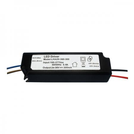 10~25W 3KVac Isolation PFC LED Drivers-LHA20(A) - 10~25W 3KVac Isolaion Non-Dimmable PFC LED Drivers(LHA20(A) Series)