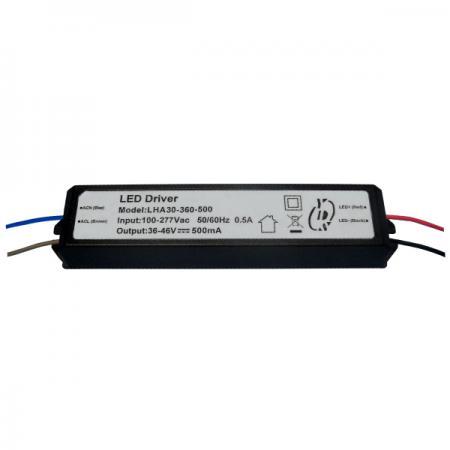 10~30W 3KVac การแยก PFC LED Drivers-LHA30(A) - 10~30W 3KVac Isolaion ไดร์เวอร์ LED PFC แบบหรี่แสงไม่ได้ (LHA30(A) Series)