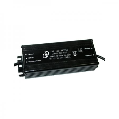 40~120W 3KVac Isolation ตัวขับ LED เอาต์พุตเดี่ยว - 40~120W 3KVac Isolaion ไดรเวอร์ LED เอาต์พุตเดี่ยว (LGA120 Series)