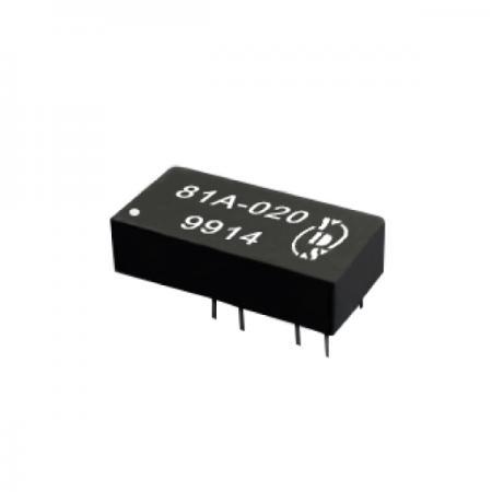 ECL 10K 3 비트 프로그래밍 가능 지연 라인 - 16 PIN ECL 10K 3 비트 프로그래밍 가능 지연 라인 (81A 시리즈)