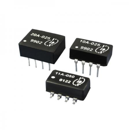 8 PIN DIL TTL Active Delay Line - TTL Schottky Interfaced Delay Line(10A/11A/20A Series)