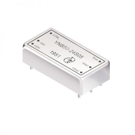 50W 1.6KV Isolation 4:1 DIP DC-DC Converters(YNB50-Series) - 50W 1.6KV Isolation 4:1 DIP DC-DC Converters(YNB50-Series)