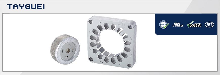 Centrifugal Diagonal Axial fan motor stator rotor core and winding armature
