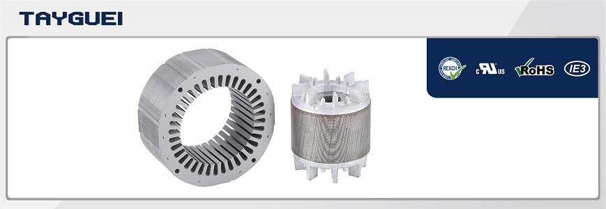 Winding armature stator rotor for worm gear metal motor, helical gearmotor