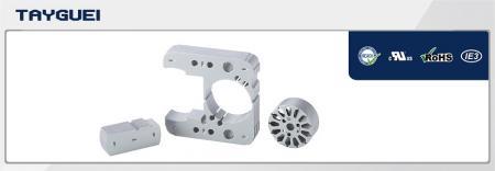 49x24 mm Stator Rotor Lamination for Shaded Pole Motor - 49x24 mm Stator Rotor Lamination for Shaded Pole Motor