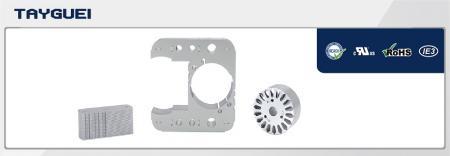 60x30 mm Stator Rotor Lamination for Shaded Pole Motor - 60x30 mm Stator Rotor Lamination for Shaded Pole Motor