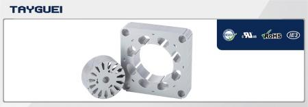 60x35 mm Stator Rotor Lamination for Fan Motor - 60x35 mm Stator Rotor Lamination for Fan Motor (Copper winding saving model)