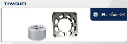 75x46 mm Stator Rotor Lamination for Fan Motor (Copper winding saving model) - 75x46 mm Stator Rotor Lamination for Fan Motor (Copper winding saving model), especially for 110V motor