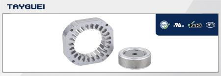 110x65 mm Stator Rotor Lamination for Four Poles Motor