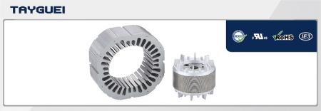 140x85 mm Stator Rotor Lamination for Four Poles Motor