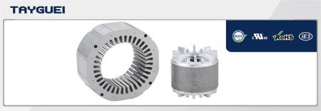 140x85 mm Stator Rotor Lamination for Four Poles and Six Poles High Efficiency Motor