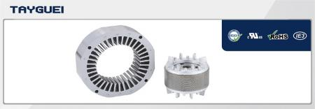 180x110 mm Stator Rotor Lamination for Four Poles and Six Poles High Efficiency Motor - 180x110 mm Stator Rotor Lamination for Four Poles and Six Poles High Efficiency Motor